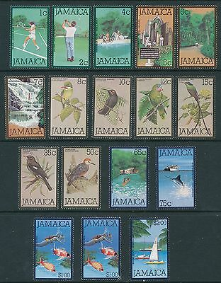Jamaica 1979 Definitives set to $2, 17 values (2 x $1)