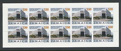 Jamaica 2005 Buildings (1st series) $300 booklet 10 x $30 self adhesive