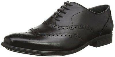 SALE Hush Puppies GRIFFIN Black Office Evening Shoe Lace Up Formal Shoe Sizes