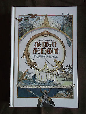 The Ring of Nibelung by P. Craig Russell Hardback Dark Horse Graphic Novel