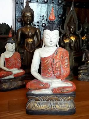 OLD Burma Buddha Teak Wood