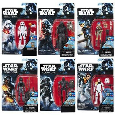 "Star Wars Rogue One Rebels Force Awakens 3.75"" Action Figure Hasbro Toys"