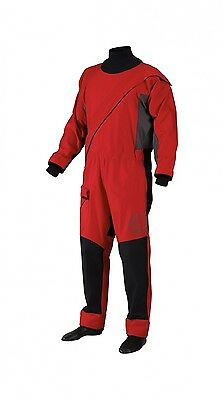 Gill Pro Men's Dry Suit Size Large Red Sailing Dry Suit 2017