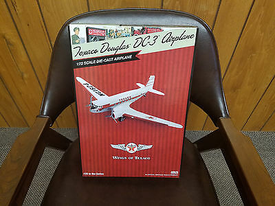 New 2017 Texaco Douglas Dc-3 Airplane Regular Edition #25, Mint Box, Sold Out