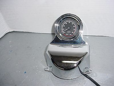 Harley Davidson 2 5/8 Chrome Tachometer with Mount