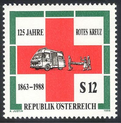 Austria 1988 Red Cross/Ambulance/Medical 1v (n25511)