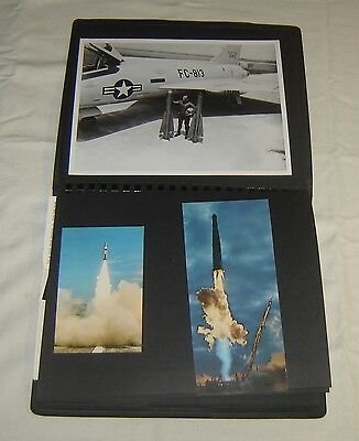 Vintage US Military Missile Defense Systems NIKE/ATLAS Photos & PCs SCRAPBOOK