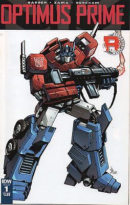 Optimus Prime #1 (NM) `16 Barber/ Zama