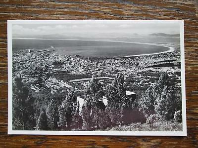 Cape Town With Table Bay From Lower Cableway Station - B & S Real Photo Postcard