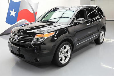 2013 Ford Explorer Limited Sport Utility 4-Door 2013 FORD EXPLORER LTD AWD LEATHER NAV REAR CAM DVD 57K #A40973 Texas Direct