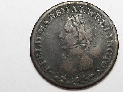 No Date Lower CANADA Wellington Half Penny Token (Trident Type). WE-2.  #11
