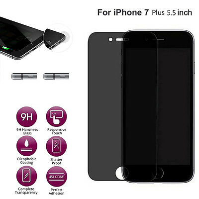 New Anti-Spy Privacy Tempered Glass Screen Protector Film For for iphone 7 plus