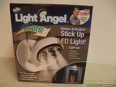 Light Angel Motion Activated Sensor Led Light As Seen On Tv Cordless Stick Up