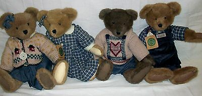 "4 Large Boyds Bears Original Tags Attached All In Excellent Condition 16"" Tall"