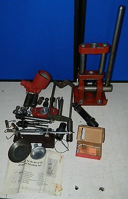 CH Reloader Single Stage H Press, Redding Scale, Shell Holders, Parts etc.