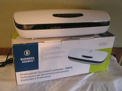 NIB Business Source Document Laminator - BSN20875