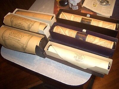Lot Of 15 Player Piano Music Rolls , Pehaps All From The 20 Look In Good Shape