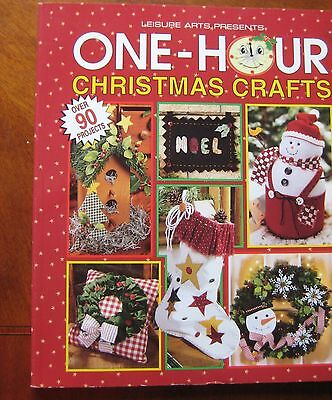 One Hour Christmas Crafts