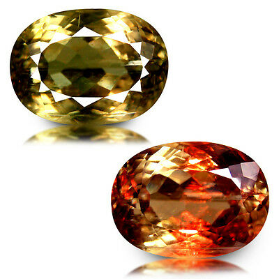 16.92Ct Huge Size! Extremely Sparkles Unheated Color Change Turkish Diaspore