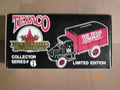 1925 Texaco Mack Bulldog Lubricant Truck Collector Series #6 Ertl Mint