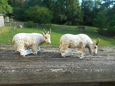 BILLY AND NANNY MOUNTAIN GOATS by Collecta/ toy/ goat/ 88376/ 88377