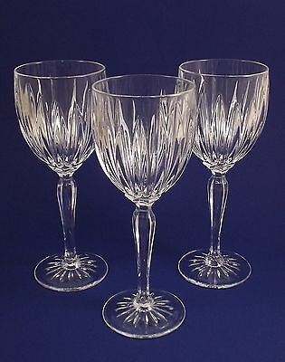 Cristal D'arques Durand Classic Clear Water Goblets - Set Of 3
