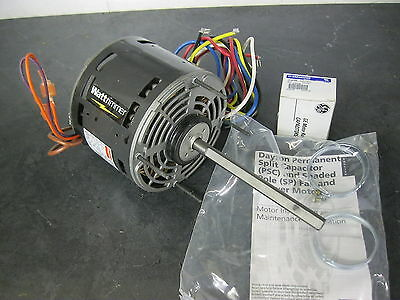 DAYTON 3LU75 Direct Drive Blower Motor 1/4 hp 1075 rpm 4 speed 115v Includes cap