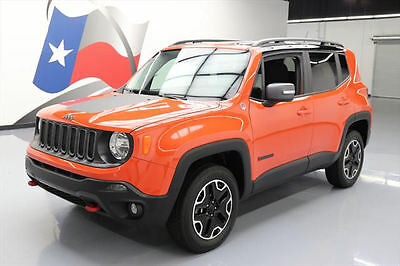 2017 Jeep Renegade  2017 JEEP RENEGADE TRAILHAWK 4X4 BLUETOOTH REAR CAM 18K #E79335 Texas Direct