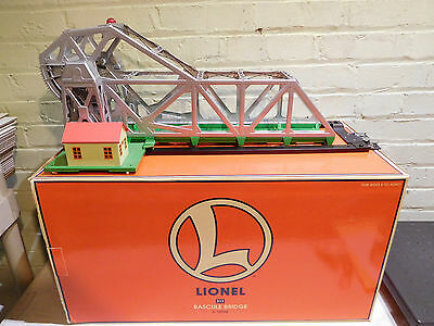 Lionel O Gauge 6-12948 Bascule Bridge 313 with Original Box Works Great!