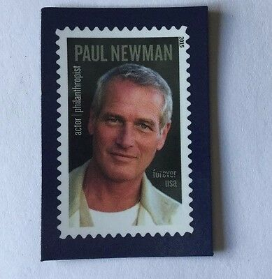 U S POST OFFICE  STAMP display magnet PAUL NEWMAN--Free Shipping!