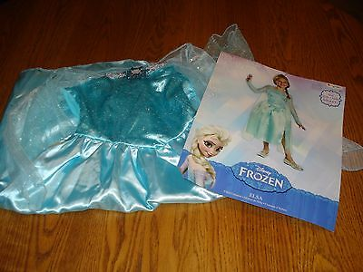 NWT Girls Disney Frozen ELSA Costume Size Small 4-6x S