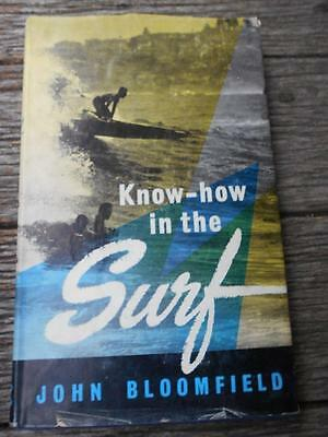 Scarce 1st Ed & D/J 1959 Australia How to surf surfers surfboards clubs waves