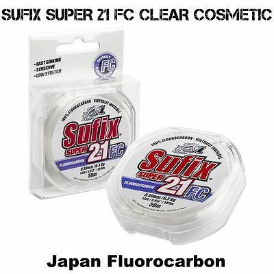 SUFIX SUPER 21 FC CLEAR COSMETIC 0.33mm Japan Fluorocarbon