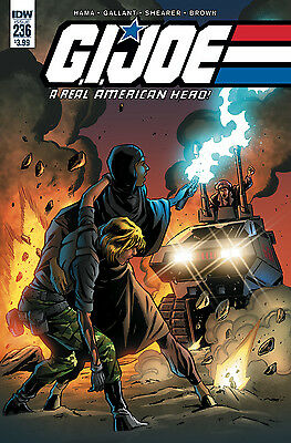 Gi Joe A Real American Hero #236 (Idw 2017 1St Print) Comic