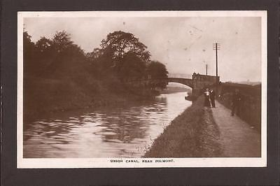 Union Canal near Polmont. 1914. RP.
