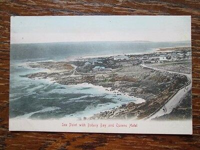 SEA POINT WITH BOTANY BAY & QUEENS HOTEL, CAPE TOWN - P. S. & C, No 187 (1900s)