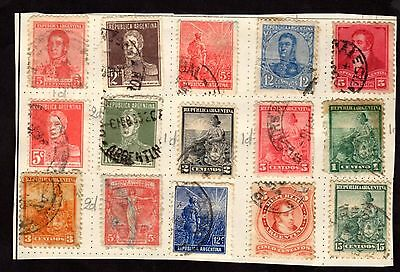 Stamps ~ ARGENTINA ~ Unsorted VERY EARLY