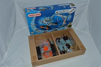 Meccano Set Modern 15 Multi Models  Boxed
