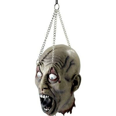 Dismembered Latex Head Halloween Party Fancy Dress Accessory