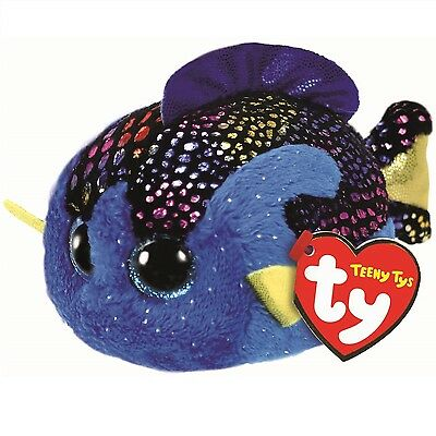 Ty Beanie Babies 41250 Teeny Tys Madie the Blue Fish