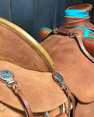 Custom Roughout Wade Saddle - Ranch/Trail/Training/Buckaroo/Roping