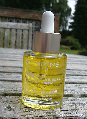 New CLARINS Lotus Face Treatment Oil for Oily or Combination Skin 30 ml