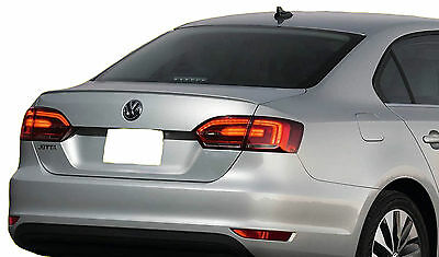 Painted Volkswagon Jetta Lip Factory Style Spoiler 2011-2016