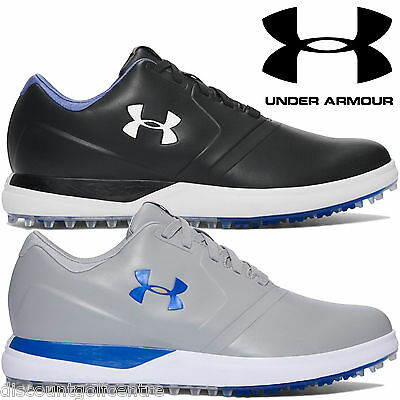 Under Armour Mens UA Performance SL Waterproof Golf Shoes 2017