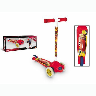 Disney Cars Twist & Roll Scooter New & Official (FREE P+P)