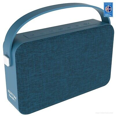 Bluetooth Speaker iPhone Android iPod 24 Watts 20hr Battery AZATOM KARA BLUE