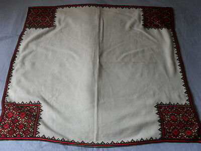 Lovely Vintage Hand-Embroidered Tablecloth