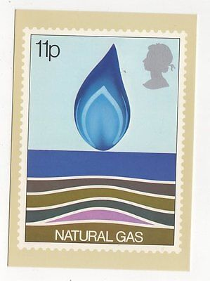 Energy Natural Gas 1978 Postcard First Day Of Issue 254a
