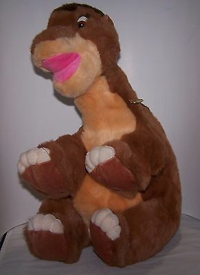 Vintage J.C.Penney Gund Littlefoot Plush Dinosaur Land Before Time With Tag 1988