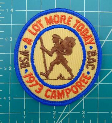 Vintage Boy Scouts of America BSA Patch 1973 BAC Camporee